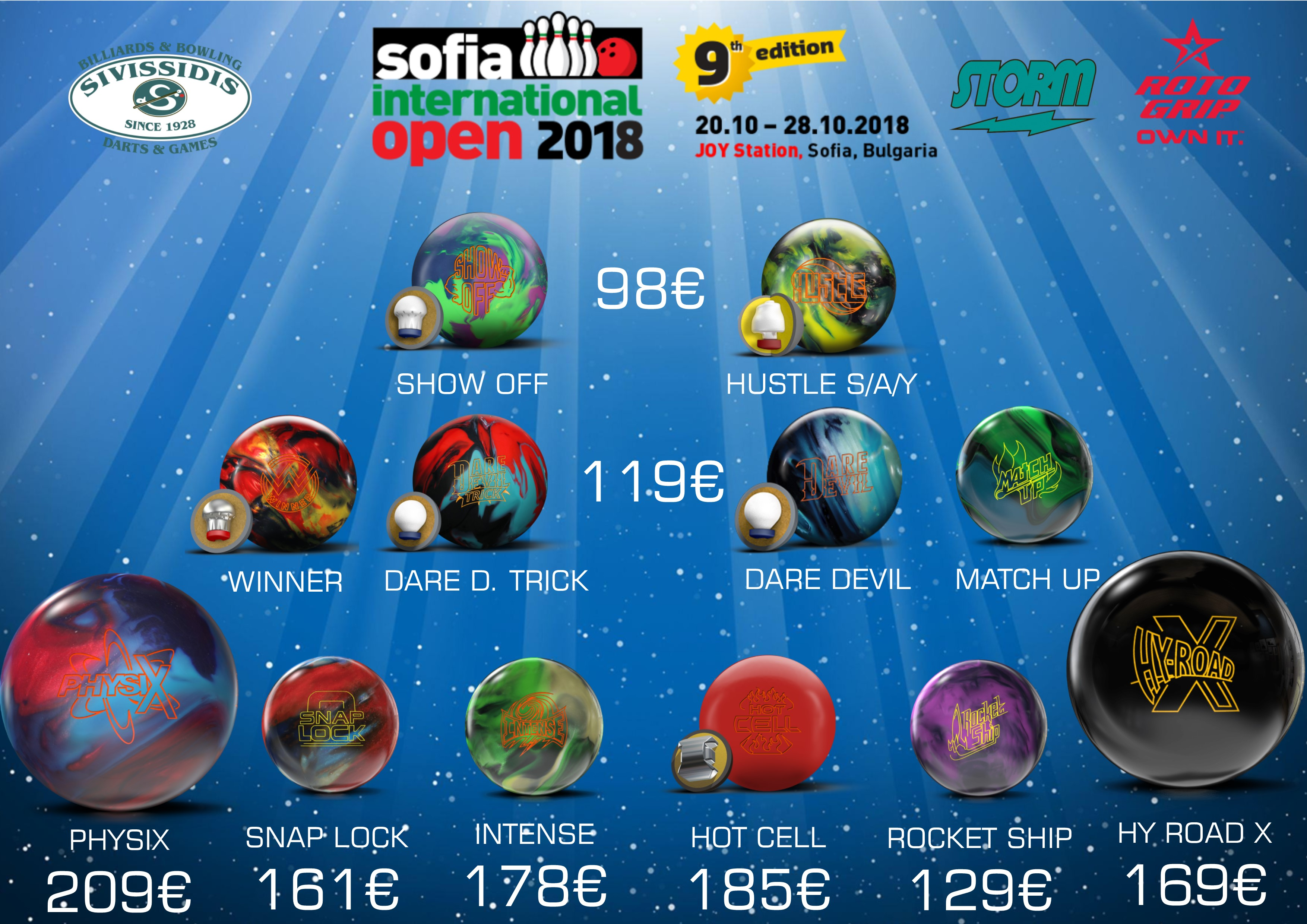 Sofia International 2018 Ball Offers
